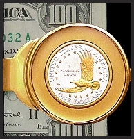 Eagle Dollar Money Clip C373-ED2