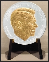 Ronald Reagan Desk Medallion E-PRR12