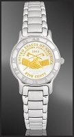 Peace Medal Nickel Ladies Bracelet Coin Watch R111-FPE2-1