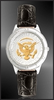 Presidential Seal Half Dollar Mens Strap Coin Watch R111-PS2-0