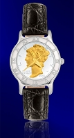 Mercury Dime Ladies Strap Coin Watch R111-WD2-0