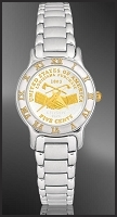 Peace Medal Nickel Ladies Bracelet Coin Watch R113-FPE2-1