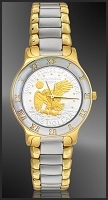 Apollo Landing Eagle Dollar Ladies Bracelet Coin Watch R323-AL2-L2