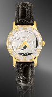 John McCain Ladies Strap Medallion Watch R323-FJM1-0