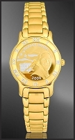 Barack Obama Ladies Bracelet Medallion Watch R331-FBO4-3