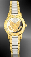 Great Seal Ladies Bracelet Medallion Watch R331-FGS2-2