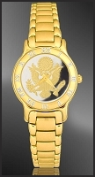 Great Seal Ladies Bracelet Medallion Watch R331-FGS2-3
