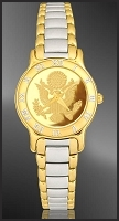Great Seal Ladies Bracelet Medallion Watch R331-FGS3-2