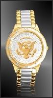 Presidential Seal Half Dollar Mens Bracelet Coin Watch R331-PS2-2