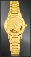 Barack Obama Ladies Bracelet Medallion Watch R333-FBO3-3