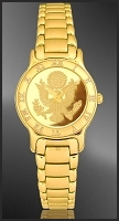 Great Seal Ladies Bracelet Medallion Watch R333-FGS3-3