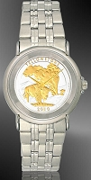 America The Beautiful Quarters Youth/Unisex Bracelet Coin Watch S111-IUS2-1