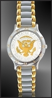 Mint Time Brand Presidential Seal Mens Bracelet Watch UC113-PS2-2