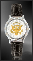 Mint Time Brand Presidential Seal Mens Leather Watch UC113-PS2-0
