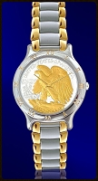 Mint Time Brand Walking Eagle Mens Bracelet Watch UC113-WE2-2