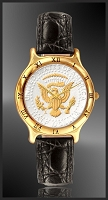 Mint Time Brand Presidential Seal Mens Leather Watch UC335-PS2-0