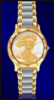 Mint Time Brand Walking Liberty Mens Bracelet Watch UC335-WL2-2
