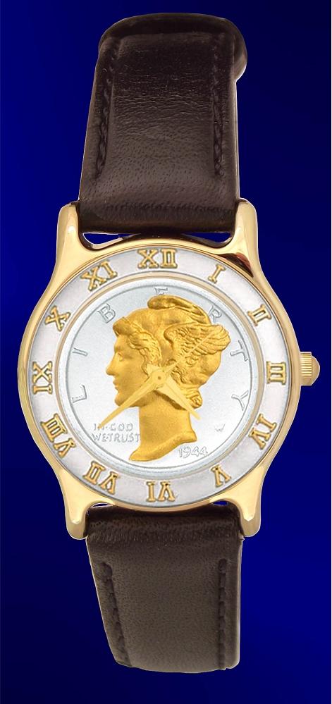 Mint Time Brand Ladies Mercury Dime Watch UR323-WD2