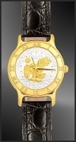 Apollo Landing Eagle Dollar Ladies Strap Coin Watch R333-AL2-L0