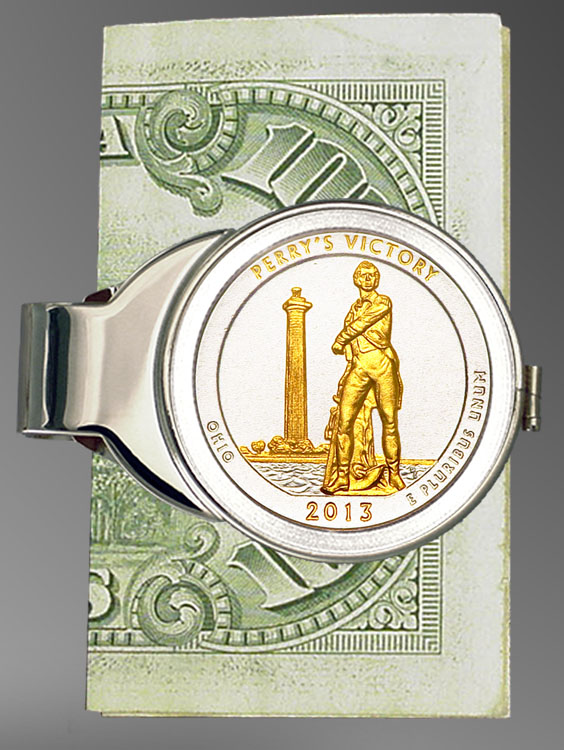 America The Beautiful Quarter Money Clip C307-IUS2