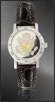 Great Seal Ladies Strap Medallion Watch C115-FGS1-0
