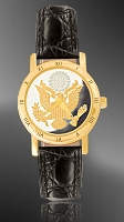 Great Seal Ladies Strap Medallion Watch C335-FGS2-0