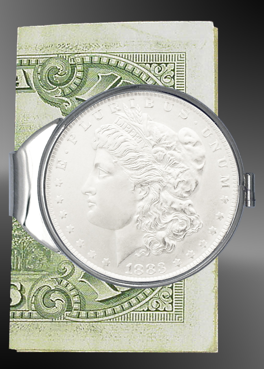 Morgan Dollar Money Clip C387-MD1