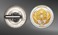 America The Beautiful Quarters Cuff Links CL7-IUS2