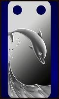 PAMP  Dolphin Pendant 1/5 Ounce Fine Proof Silver Bar