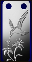 PAMP Hummingbird Pendant 1/5 Ounce Fine Proof Silver Bar