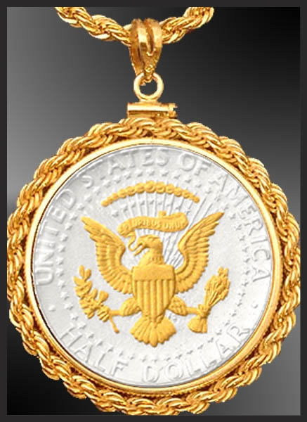 Presidential Seal Rope Necklace NRR6-PS2-24D3