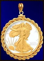 Walking Liberty Pendant PRR6-WL2