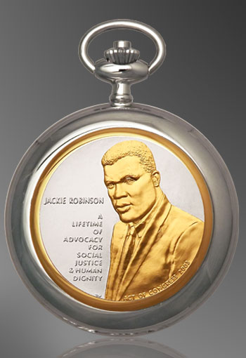African American History Medallion Pocket Watch PW397-AAH2
