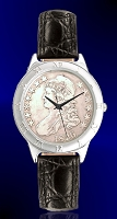 Capped Bust Half Dollar Mens Strap Coin Watch R111-CBH-0