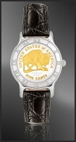 American Bison Nickel Ladies Strap Coin Watch R111-FBN2-0