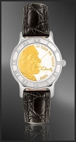 Jefferson Nickel Ladies Strap Coin Watch R111-FJN2-0