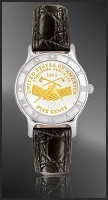 Peace Medal Nickel Ladies Strap Coin Watch R111-FPE2-0