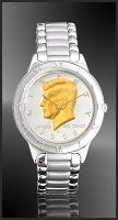 JFK Half Dollar Mens Bracelet Coin Watch R111-JFK2-1