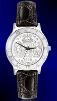 Australian Florin Mens Strap Coin Watch R111-MFL1-0