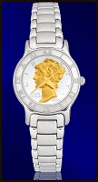 Mercury Dime Ladies Bracelet Coin Watch R111-WD2-1