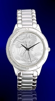 Walking Liberty Half Dollar Mens Bracelet Coin Watch R111-WL1-1