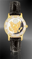 Great Seal Ladies Strap Medallion Watch R323-FGS2-0