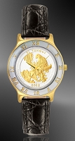 America The Beautiful Quarters Ladies Bracelet Coin Watch R323-IUS2-L0