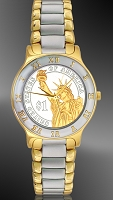 Presidential Dollar Ladies Bracelet Coin Watch R323-P02-L2
