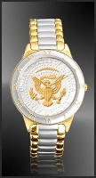 Presidential Seal Half Dollar Ladies Bracelet Coin Watch R323-PS2-L2