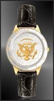 Presidential Seal Half Dollar Mens Strap Coin Watch R323-PS2-0