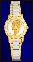 Mercury Dime Ladies Coin Watch R333-WD2-2