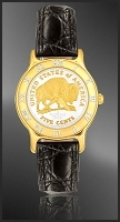 American Bison Nickel Ladies Strap Coin Watch R331-FBN2-0