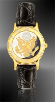 Great Seal Ladies Strap Medallion Watch R331-FGS2-0