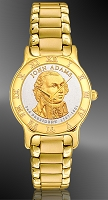 Presidential Dollar Mens Bracelet Coin Watch R333-P02-3